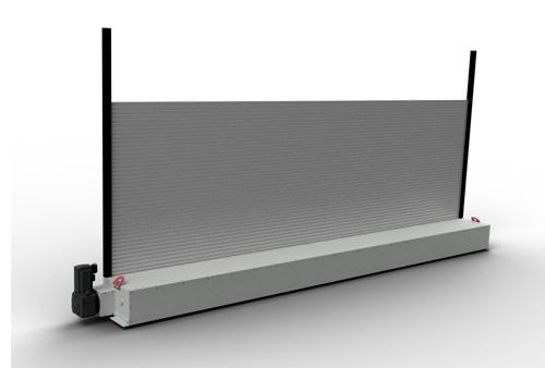 3D-Modell Hubtor